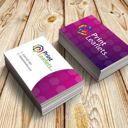 350gsm uncoated business cards print leaflets printleafletsbusiness card matt reheart Gallery
