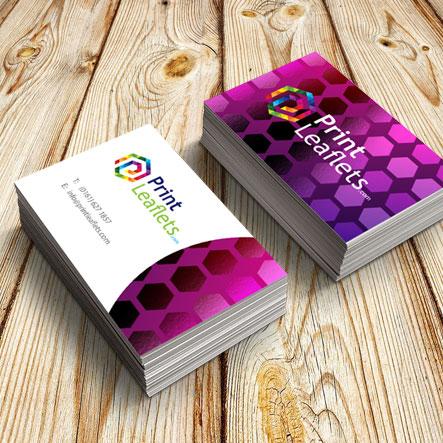 450gsm spot uv business cards print leaflets printleafletsbusiness card spot uv colourmoves