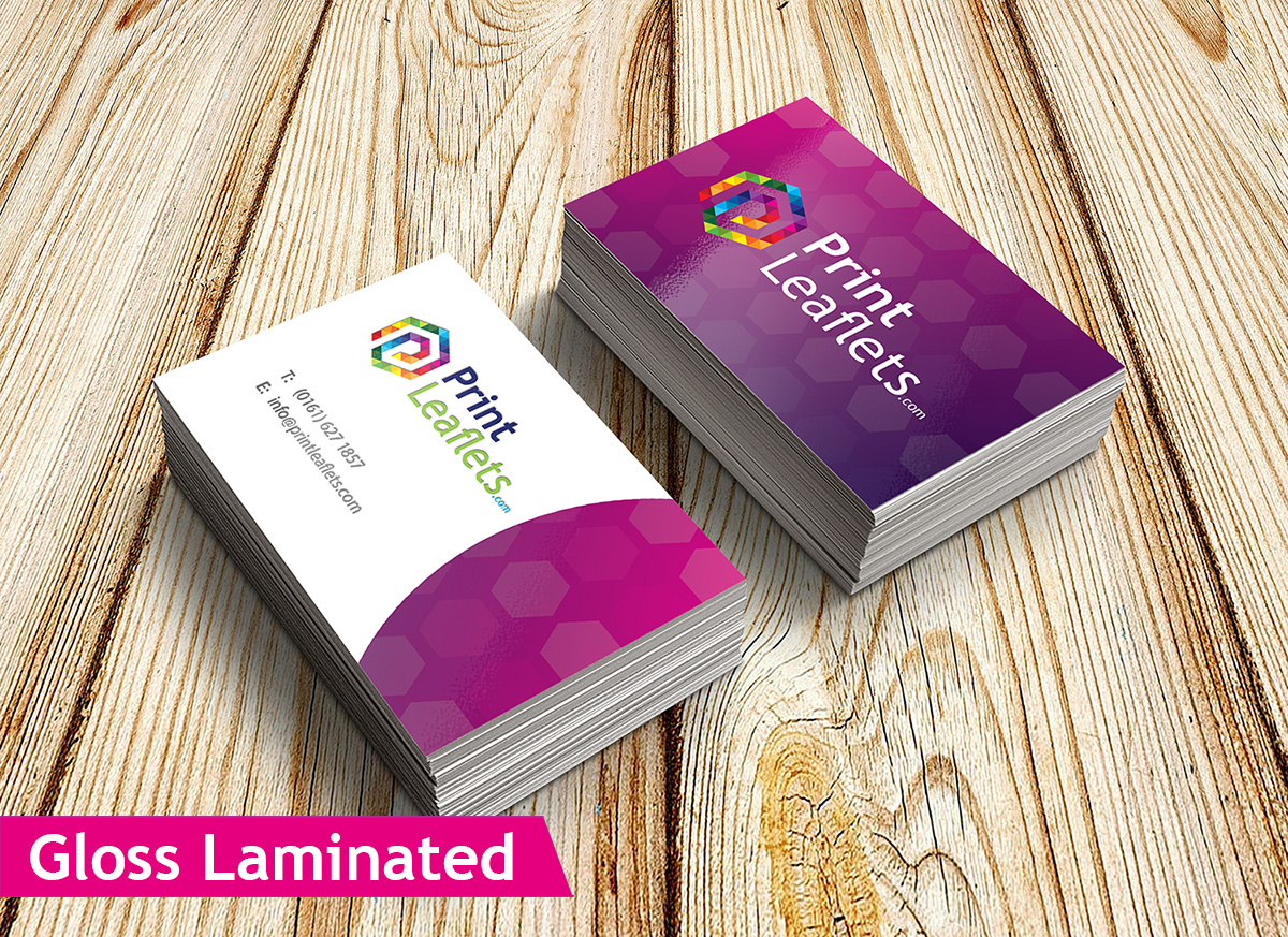 450gsm Business Cards | Print Leaflets